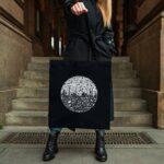 Plátěna taška BOTUMY – Černá