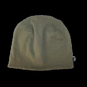 Bavlněná čepice khaki
